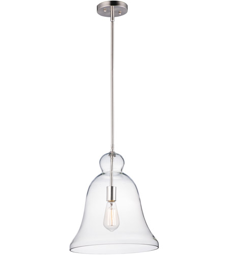 Maxim 10097CLSN Annabelle 1 Light 14 inch Satin Nickel Single Pendant Ceiling Light photo