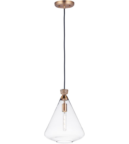 Maxim 10101CLWOAB Abbott 1 Light 13 inch Weathered Oak and Antique Brass Single Pendant Ceiling Light photo