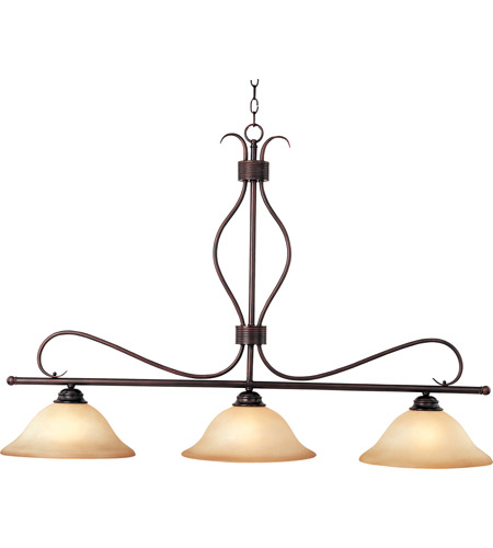Maxim 10127wsoi Basix 3 Light 48 Inch Oil Rubbed Bronze