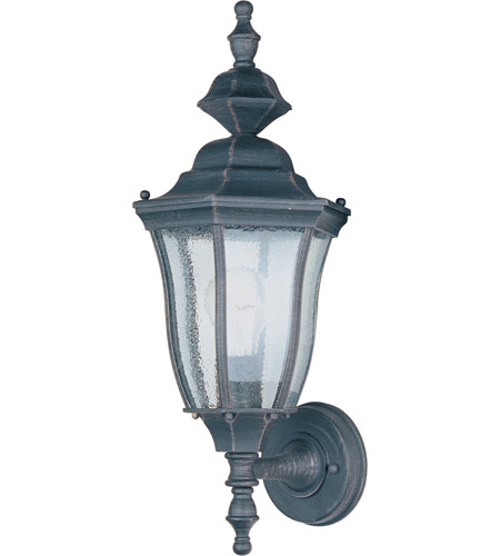 Maxim Lighting Madrona 1 Light Outdoor Wall Mount in Rust Patina 1012RP photo
