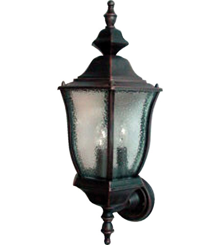Maxim Lighting Madrona 3 Light Outdoor Wall Mount in Rust Patina 1014RP photo