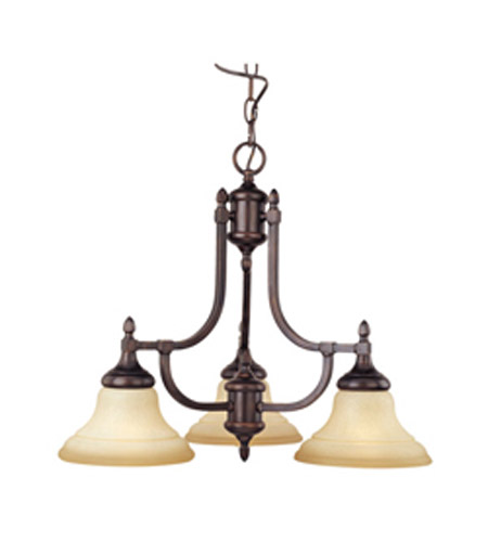 Maxim Lighting South Bend 3 Light Mini Chandelier in Oil Rubbed Bronze 10154WSOI photo
