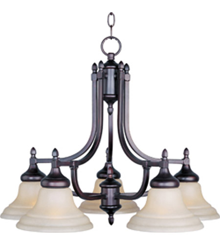 Maxim Lighting South Bend 5 Light Down Light Chandelier in Oil Rubbed Bronze 10155WSOI photo