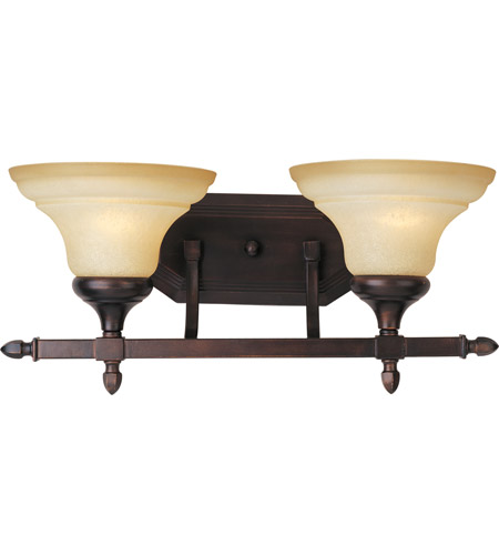 Maxim Lighting South Bend 2 Light Bath Light in Oil Rubbed Bronze 10157WSOI photo