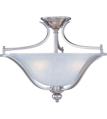 Maxim Lighting Madera 3 Light Semi Flush Mount in Satin Silver 10171ICSS photo