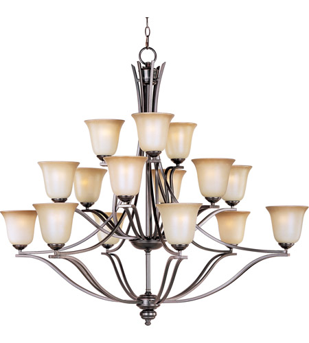 Maxim Lighting Madera 15 Light Multi-Tier Chandelier in Oil Rubbed Bronze 10178WSOI photo