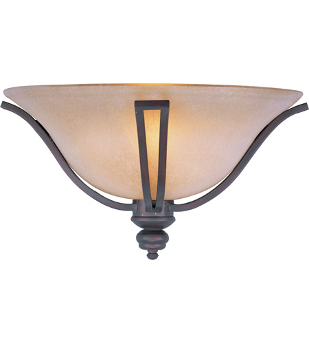 Maxim 10179WSOI Madera 1 Light 17 Inch Oil Rubbed Bronze Wall Sconce