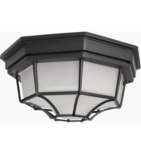 Maxim 1020BK Crown Hill 2 Light 12 inch Black Outdoor Ceiling Mount photo