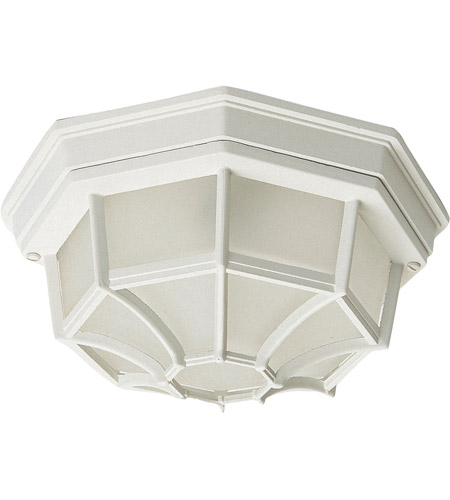 Maxim 1020WT Crown Hill 2 Light 12 inch White Outdoor Ceiling Mount photo