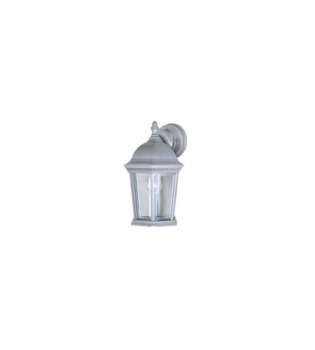 Maxim Lighting Builder Cast 1 Light Outdoor Wall Mount in Pewter 1024PE photo