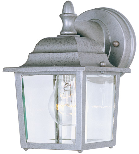 Maxim Lighting Builder Cast 1 Light Outdoor Wall Mount in Pewter 1025PE photo