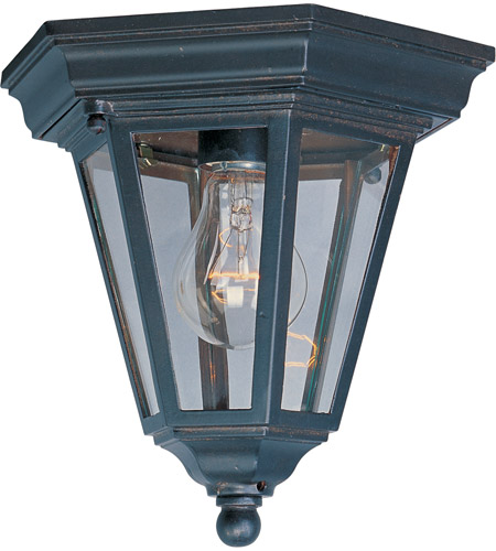 Maxim Lighting Westlake 1 Light Outdoor Ceiling Mount in Empire Bronze 1027EB photo