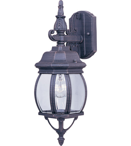 Maxim 1030RP Crown Hill 1 Light 16 inch Rust Patina Outdoor Wall Mount photo