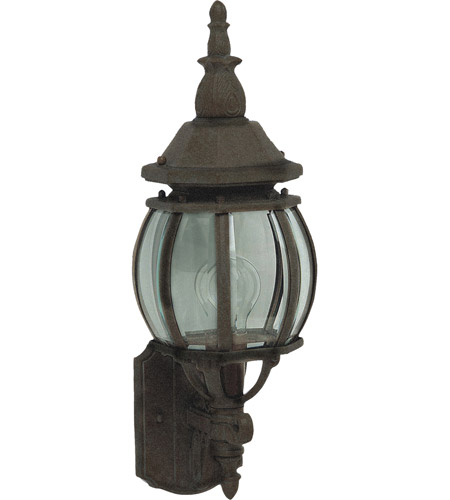 Maxim Lighting Crown Hill 1 Light Outdoor Wall Mount in Rust Patina 1032RP photo