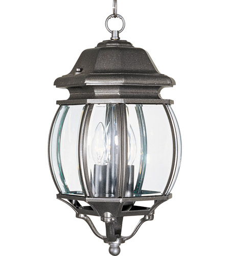 Maxim Lighting Crown Hill 3 Light Outdoor Hanging Lantern in Rust Patina 1036RP photo