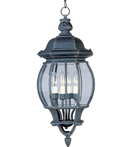 Maxim 1039RP Crown Hill 4 Light 11 inch Rust Patina Outdoor Hanging Lantern photo