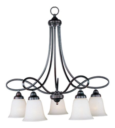 Maxim Lighting Nova 5 Light Down Light Chandelier in Oil Rubbed Bronze 11043WSOI photo