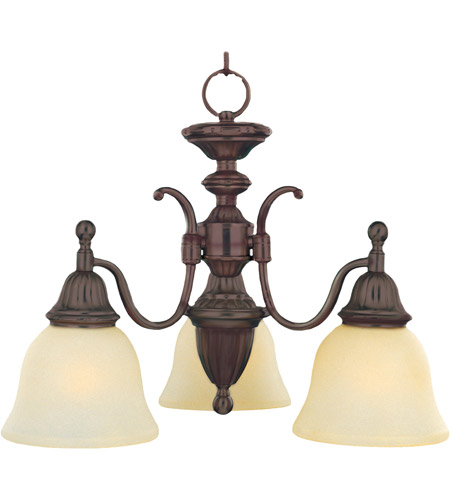 Maxim Lighting Soho 3 Light Mini Chandelier in Oil Rubbed Bronze 11051SVOI photo