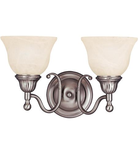 Maxim Lighting Soho 2 Light Bath Light in Satin Nickel 11057SVSN photo