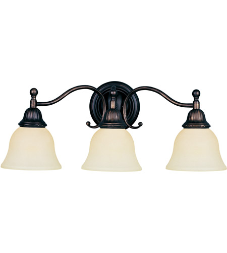 Maxim Lighting Soho 3 Light Bath Light in Oil Rubbed Bronze 11058SVOI photo