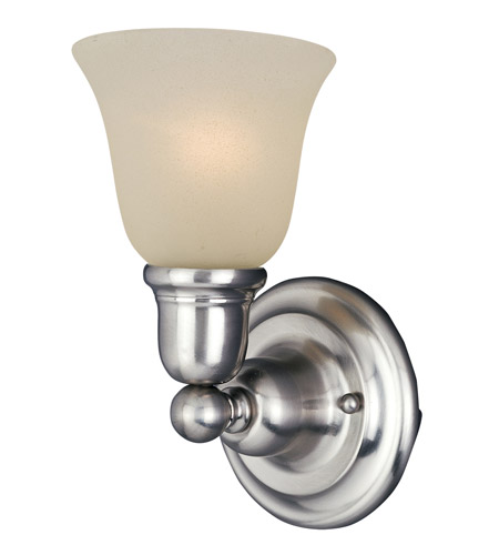 Maxim Lighting Bel Air 1 Light Wall Sconce in Satin Nickel 11086SVSN photo
