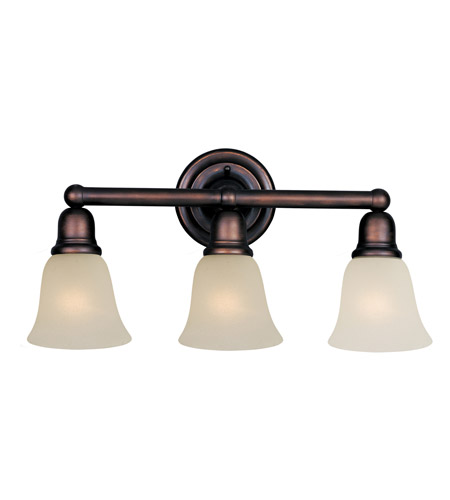 Maxim Lighting Bel Air 3 Light Bath Light in Oil Rubbed Bronze 11088SVOI photo