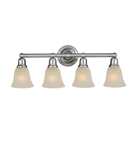 Maxim 11089SVSN Bel Air 4 Light 31 inch Satin Nickel Bath Light Wall Light photo