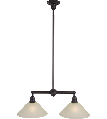 Maxim Lighting Bel Air 2 Light Island Pendant in Oil Rubbed Bronze 11092SVOI photo