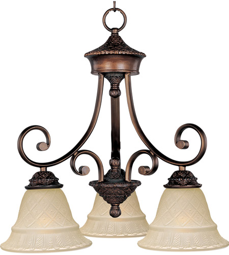 Maxim Lighting Brighton 3 Light Mini Chandelier in Oil Rubbed Bronze 11173EVOI photo