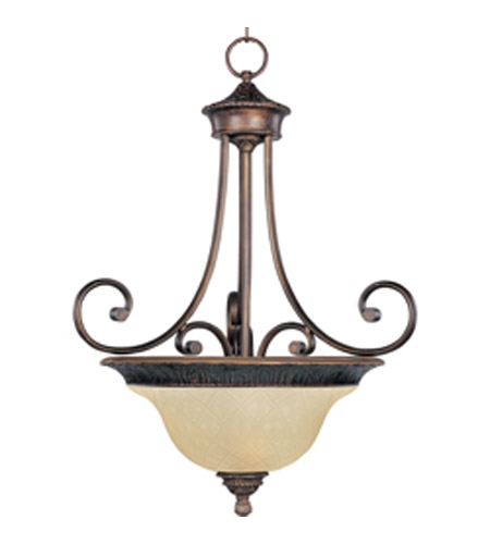 Maxim Lighting Brighton 3 Light Pendant in Oil Rubbed Bronze 11174EVOI photo