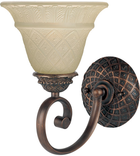 Maxim Lighting Brighton 1 Light Wall Sconce in Oil Rubbed Bronze 11181EVOI photo