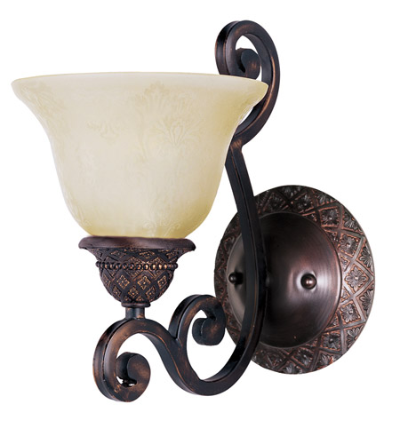 Maxim Lighting Symphony 1 Light Wall Sconce in Oil Rubbed Bronze 11246SVOI photo