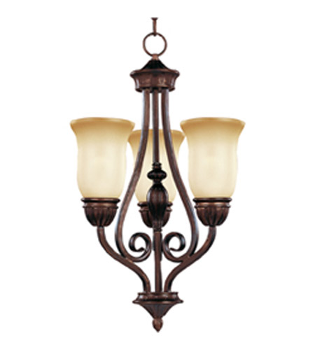 Maxim Lighting Bolero 3 Light Mini Chandelier in Oil Rubbed Bronze 11292WSOI photo