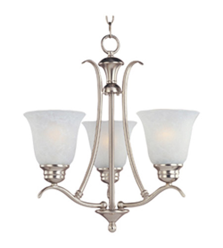 Maxim Lighting Piedmont 3 Light Mini Chandelier in Satin Nickel 11541ICSN photo