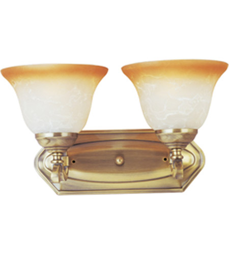 Maxim Lighting Boca 2 Light Wall Sconce in Light Gold 11682LTLG photo