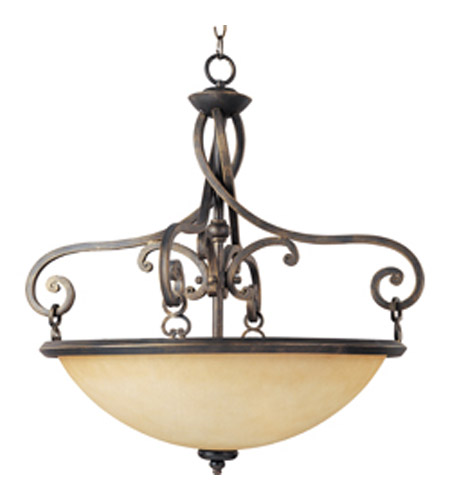 Maxim Lighting Portello 3 Light Pendant in Mahogany 11743WSMA photo