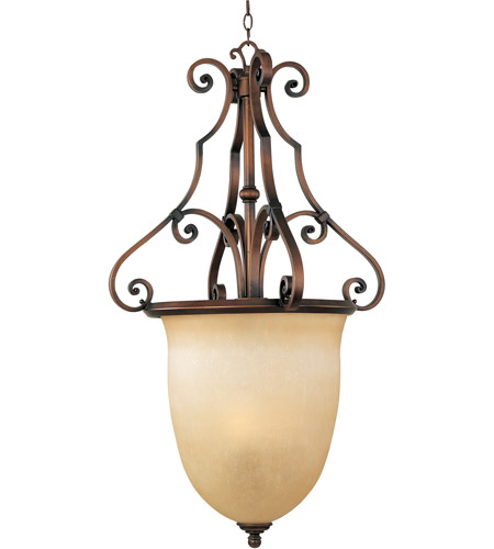 Maxim 11766MCWC La Scalla 3 Light 22 inch Weathered Copper Pendant Ceiling Light photo