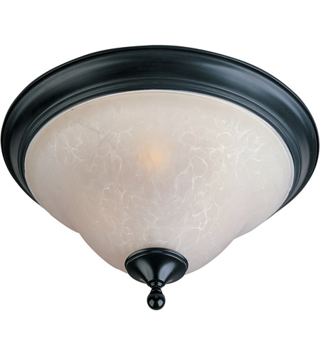 Maxim 11800ICBK Linda 3 Light 16 inch Black Flush Mount Ceiling Light photo