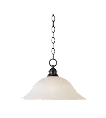 Maxim Lighting Linda 1 Light Pendant in Black 11812ICBK photo