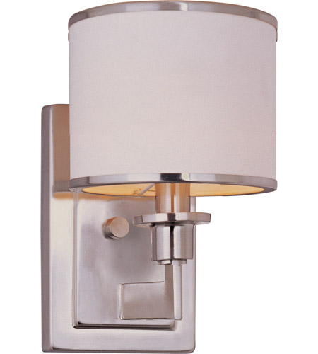 Maxim 12059WTSN Nexus 1 Light 6 inch Satin Nickel Wall Sconce Wall Light photo