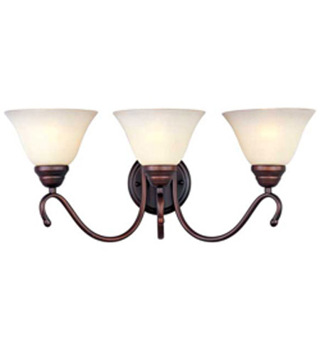 Maxim Lighting Newport 3 Light Bath Light in Oil Rubbed Bronze 12068WSOI photo