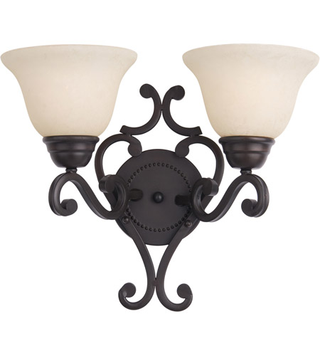 Maxim 12212FIOI Manor 2 Light 16 inch Oil Rubbed Bronze Wall Sconce Wall Light photo