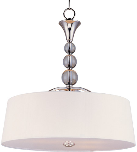 Maxim 12753WTPN Rondo 4 Light 22 inch Polished Nickel Pendant Ceiling Light photo