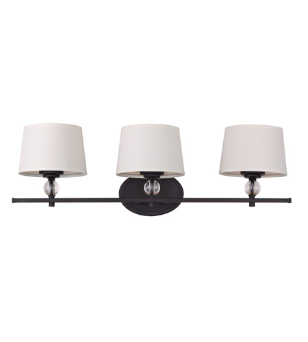 Oil Rubbed Bronze Bathroom Lighting Maxim 12763Wtoi Rondo 3 Light 26 Inch Oil Rubbed Bronze Bath Light .