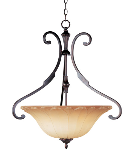 Maxim Lighting Allentown 3 Light Pendant in Oil Rubbed Bronze 13503WSOI photo