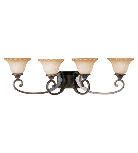 Maxim Lighting Allentown 4 Light Bath Light in Oil Rubbed Bronze 13514WSOI photo