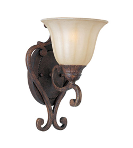 Maxim Lighting Augusta 1 Light Wall Sconce in Auburn Florentine 13571CFAF photo