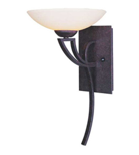 Maxim Lighting Ashford 1 Light Wall Sconce in Burnish Texture 13609SWBT photo