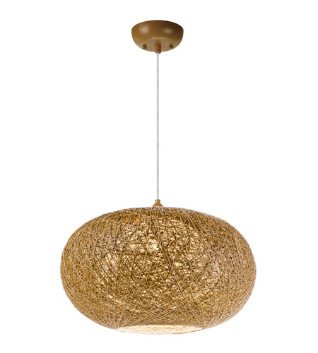 Maxim 14404NAWT Bali 1 Light 15 inch Pendant Ceiling Light in Natural photo