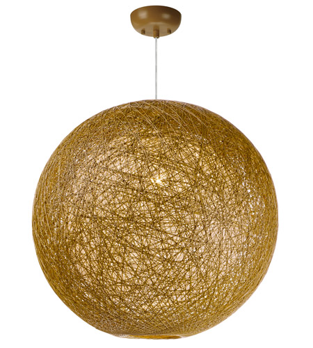 Maxim 14407NAWT Bali 1 Light 24 inch Pendant Ceiling Light in Natural photo thumbnail